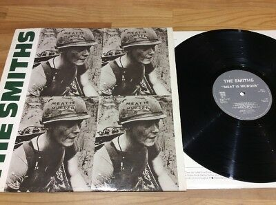 The Smiths Meat Is Murder Lp A2, B2