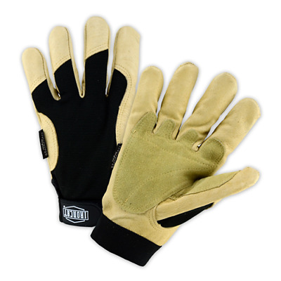 3XLarge Winter Lined Ironcat® Heavy Duty Leather Performance Gloves 1 Pair
