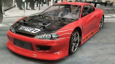 Custom Painted Body Nissan Silvia S15 For 1 10 Rc Drift Cars Touring