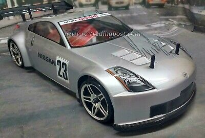 NISSAN 350Z NISMO GT Custom Painted RC Drift Car 4WD RTR Smooth Beltdriven