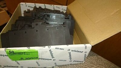 Wieland 07.340.4353.0 End Plate Box Of 48