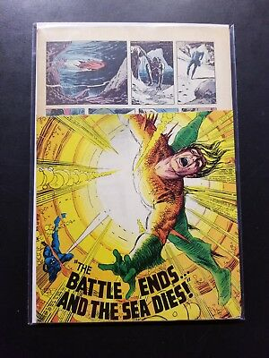 DC's Aquaman, Number 49 1970-Gd Comic Newstand Return