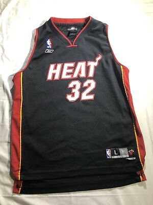b397cb884e5 ... cheapest shaquille oneal jersey miami heat reebok youth large sewn nba  swingman shaq 2decc 01f39