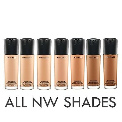 MAC Matchmaster SPF 15 Foundation Various NW Shades 35ml - Brand new & boxed
