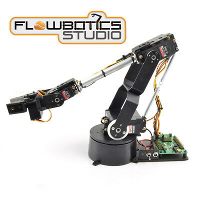 Kit Bras Robotique AL5D à 4DOF Lynxmotion SSC-32U (FlowBotics Studio)