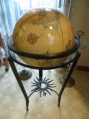 "Reploglel 16"" diameter globe world classic series floor globe pickup only."