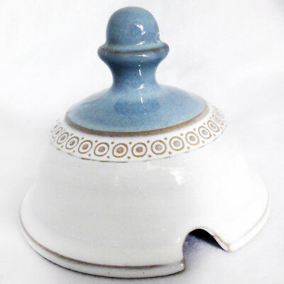 BOSTON by Denby Covered Sugar Bowl NEW NEVER USED made in England