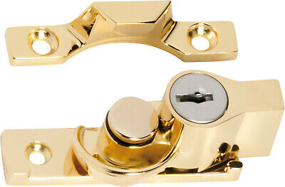 double hung sash window,narrow locking fitch catch,fastener Tradco,6 finishes