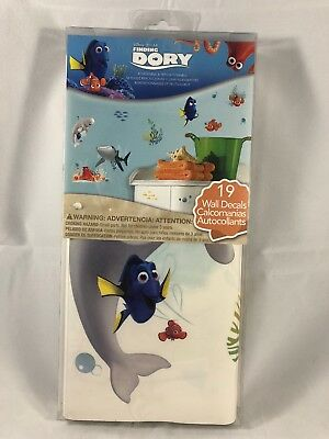 Disney Finding Dory Octopus Nemo 3D Window Wall Decals Kids Stickers Decor Gifts