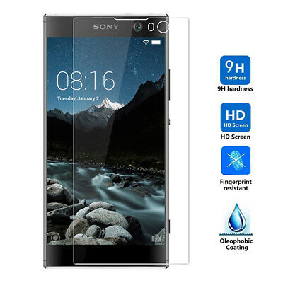 9H HD Tempered Glass Screen Protector Guard For Sony Xperia XA2 Plus