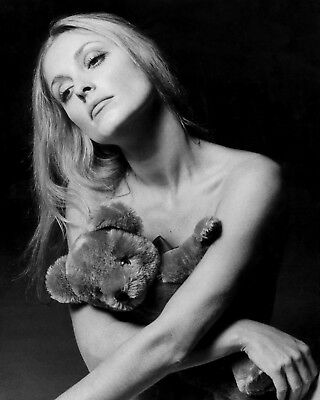 Sharon Tate Posing With The Plush Bear 8x10 Picture Celebrity Print