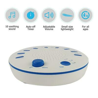 Sound Spa Relax Machine White Noise Baby Adult Sleep Nature Best Night Therapy
