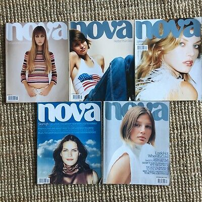 NOVA 2000 FASHION MAGAZINE COLLECTION FIRST ISSUE #3 #4 #6 #7 Juergen Teller