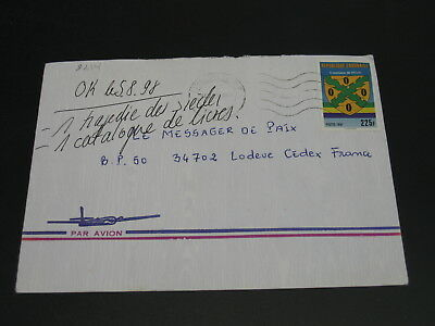 Gabon 1998 airmail cover to France *9214