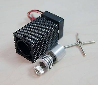 Focusable Laser Module Host for 9mm Laser Diode w/h 3 layer 520nm glass Lens