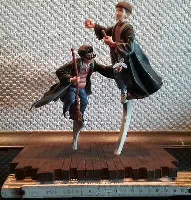 Harry Potter Ron Weasley Quidditch Figuren Aufsteller Warner Bros. 2000 rar