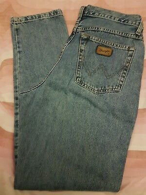 VINTAGE 80s WRANGLER LUCY JEANS  HIGH WAISTED TAPERED LEG 1980s W32 L32