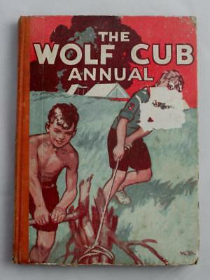Vintage SCOUTING - WOLF CUB ANNUAL 1946 BOOK