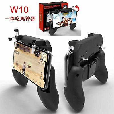 Wireless W10 PUBG Mobile Phone Game Controller Joystick Gamepad for Android IOS