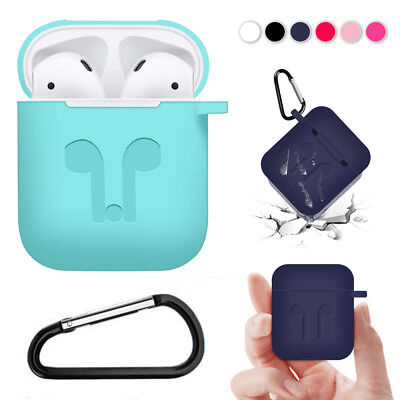 AirPods 2 1 Silicone Case Cover Shockproof Protective for Apple Airpod Charging