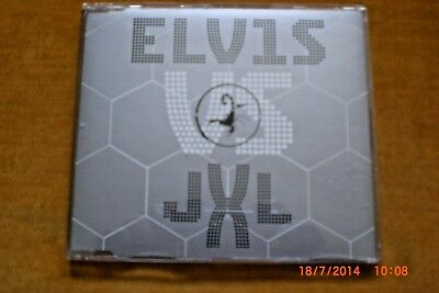 ELVIS PRESLEY (ELVIS VS JXL) A Little Less Conversation CD Single RCA 2002