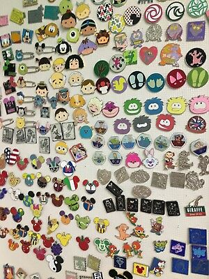 Disney Pin Lot 100 No Duplicates!