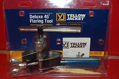 Yellow Jacket Deluxe 45* Flaring Tool ~ NEW ~ FREE SHIPPING