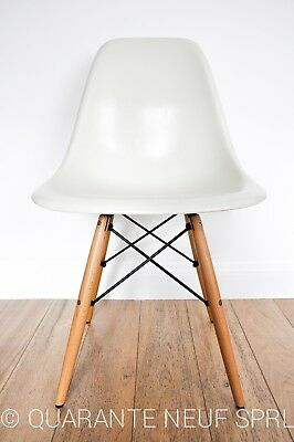Eames Herman Miller WHITE / Original / Side chair / Vintage