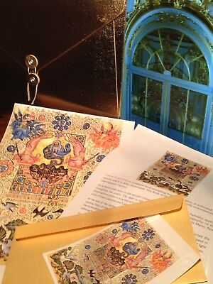 VISCONTI HOURS- Illuminated Manuscript. NEW SPECIAL GIFT COLLECTION