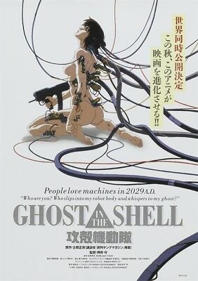 """1995 Ghost in the Shell Movie Poster 18x12 36x24 40x27"""""""