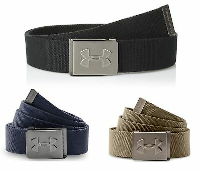 2018 Under Armour UA Webbed Belt Mens Style 1306538 - Pick a Color