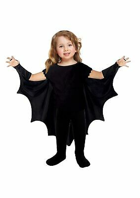 Toddler Bat Cape Halloween Fancy Dress Costume 3 Years Childrens Kids