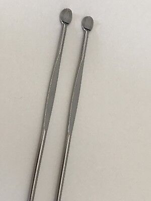 2x Dabber Set Stainless Steel Dab Tool Shatter Canada Medicinal Weed Oil Wax Lot