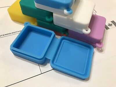 1x Silicone Wax Container 9ML Dab Shatter Canada Oil Square Non-stick Jar Key