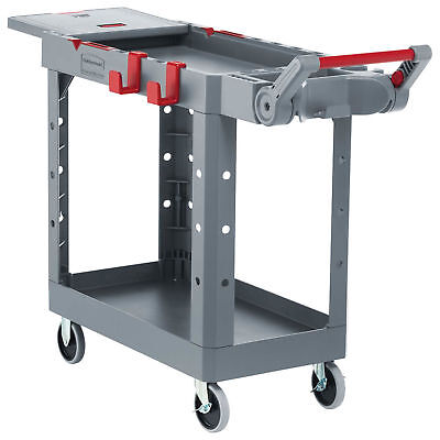 Rubbermaid Commercial Products 1997207 Heavy Duty Adaptable Utility Cart, Gray,