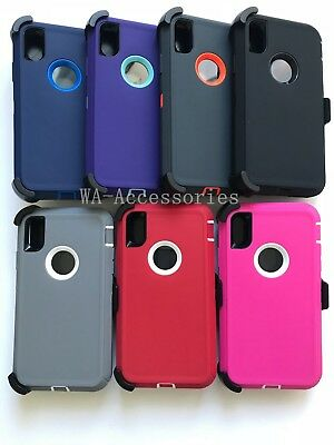 Case Cover For Apple iPhone XR (ONLY) With (Clip Fits For Otterbox Defender)