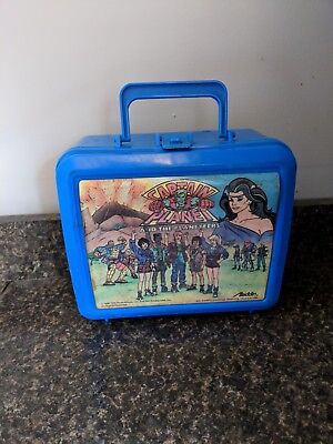 Vintage 1990 Aladdin Captain Planet & the Planeteers Lunchbox & Thermos