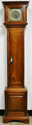 Antique German 8 Day 1/4 Striking Westminster Chime Longcase Grandmother Clock