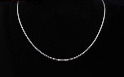 "316L Stainless Steel Round Snake Chain Necklace - 2.5 mm - 18"" thru 24"""