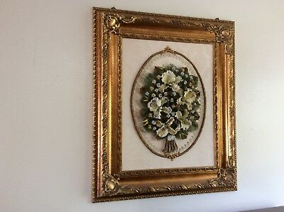 Capodimonte Porcelain wall hanging
