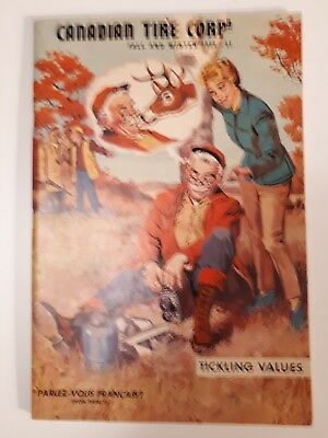 "Rare Canadian ""canadian Tire Corp. 1960-61 Fall And Winter"" Catalogue- Excellent"