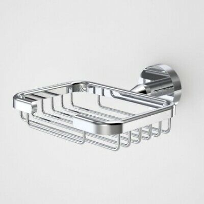 New Caroma Cosmo Soap Basket Metal - Silver 126Mm W X 140Mm D