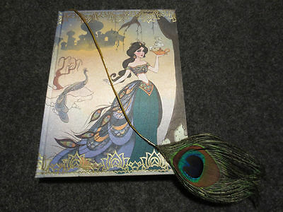 New Disney Store The Art of Jasmine Aladdin Princess D23 Journal Diary Note book