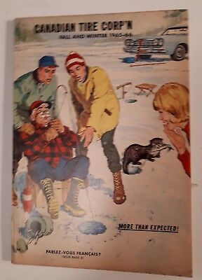 "Rare Canadian ""canadian Tire Corp. 1965-66 Fall And Winter"" Catalogue-Excellent"