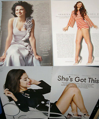 SELENA GOMEZ 182x Clippings Pinup Covers