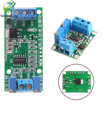 NEW Current Voltage Transmitter 4-20mA/ 0-5V Isolation Signal Converter Module