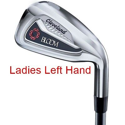 Cleveland Bloom No. 7 Iron (Navy) - Graphite - Ladies Left Hand - New!