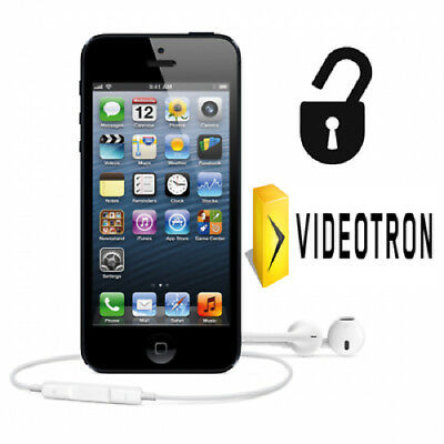 24 HOUR UNLOCK VIDEOTRON iPHONE 4 4s 5 5s 6 6s 6+ 6s+ SE 7 7+ 8 8+ X