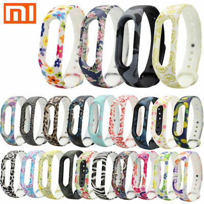 For Xiaomi Mi Band 2 3 Adjustable Bangle Soft Silicone Strap Wristband Bracelet