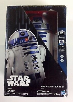 Star Wars Remote Control Bluetooth Smart R2-D2! Hasbro! Great Gift! LOOK!
